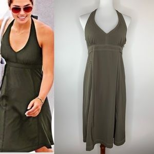 Athleta Pack Everywhere Halter Dress Size 12 UPF